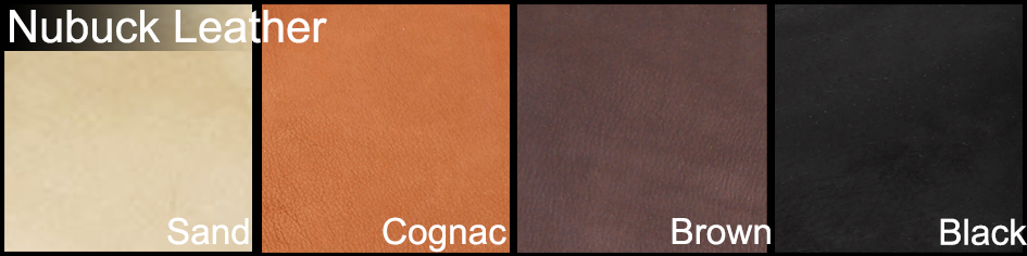Nubuck Leather color Example