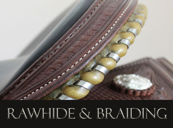 Rawhide And Braiding Smaller Size