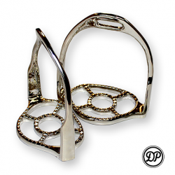 0063 Baroque stirrups