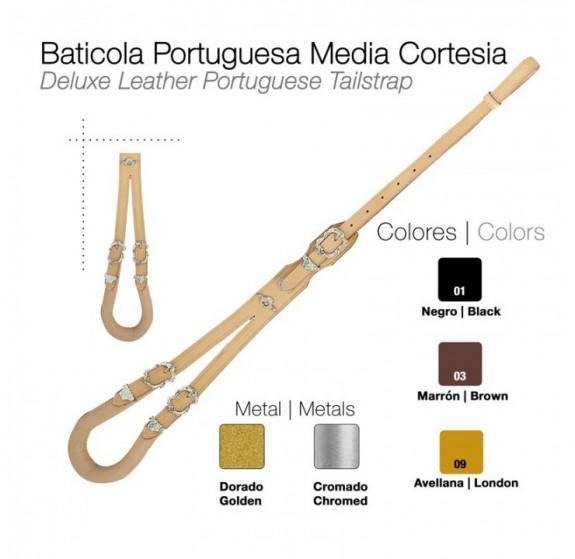 Deluxe Portuguese Crupper by Zaldi
