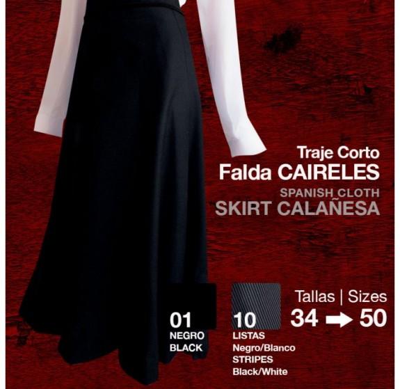 2100810 Ladies Spanish Calanesa skirt