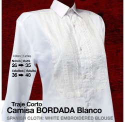 21008122 Spanish embroidered blouse