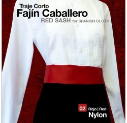 210823 Spanish Cloth Red Sash