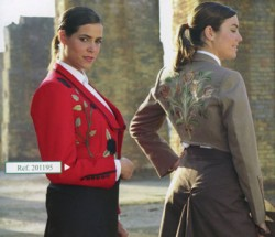 2100843 Spanish Ladies Bordados Jacket