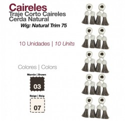 2100846  Caireles- Natural Tassels