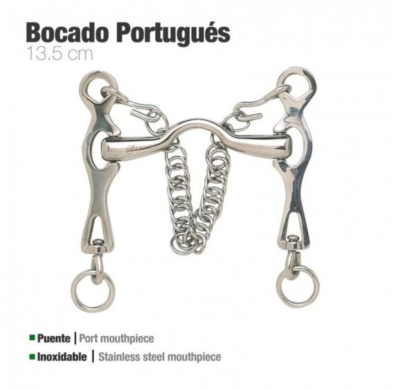 Long Shank Spanish Portuguese Baroque Mouthpiece Horse Mouth Bit