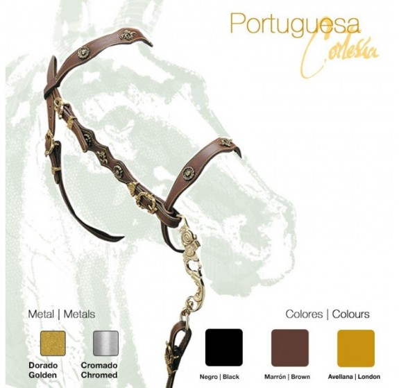 2101903 Deluxe Cortesia Portuguese bridle