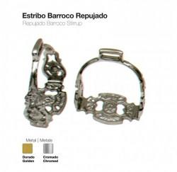 21039470 Barroco Repujiado stirrups