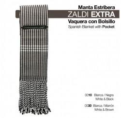 2106215 Zaldi Extra Spanish Blanket with pocket