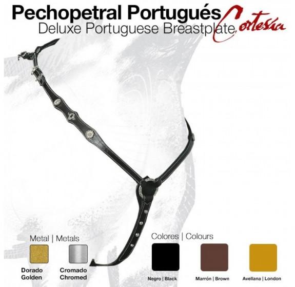 2107103 Deluxe Cortesia Portuguese Breastplate