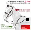 21019208 Escola Portuguese Bridle
