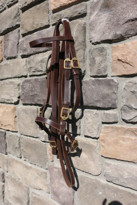 Marjoman Alta Escuela Single bridle