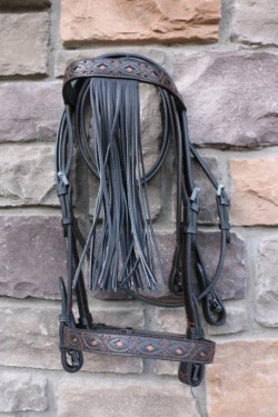 177 VAQUERA FILIGREE BRIDLE
