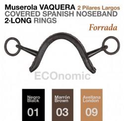 21179390 Muserola Spanish 2 Pillar Noseband (Copy)
