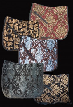 Baroque saddle pad