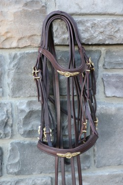 3030 Romaria II Double bridle